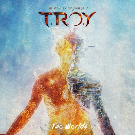 TROY New album Two Worlds artwork